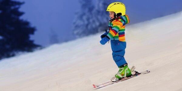 3hodinové večerní lyžování na Sachově studánce