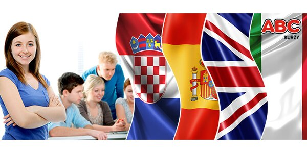 Intenzivní letní jazykové kurzy italštiny, chorvatštiny a dalších