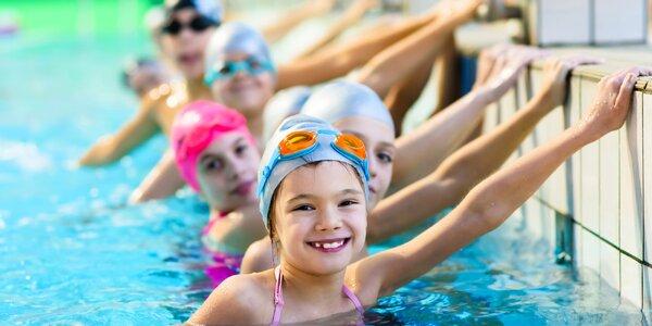 Zkušební lekce plavání pro děti od 3 let
