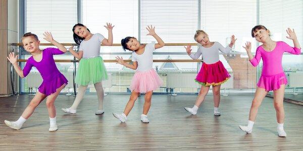 Taneční kurzy pro děti včetně rytmické průpravy