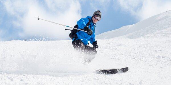 Celodenní lyžovačka ve skiareálu Búřov