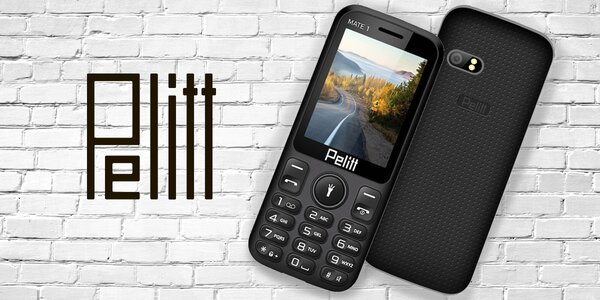 Jednoduchý tlačítkový dualSIM telefon Pelitt Mate1