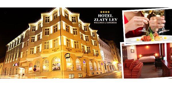 Luxusní wellness pobyt pro dva hodinu od Prahy
