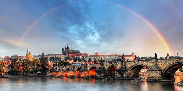1–2 noci v Praze se snídaní a možností wellness