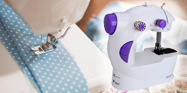 Malý kompaktní šicí stroj pro domácí šití