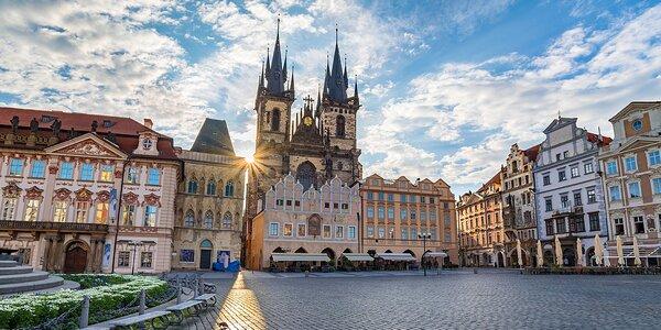 Pohodový pobyt v Praze se snídaní i vínem