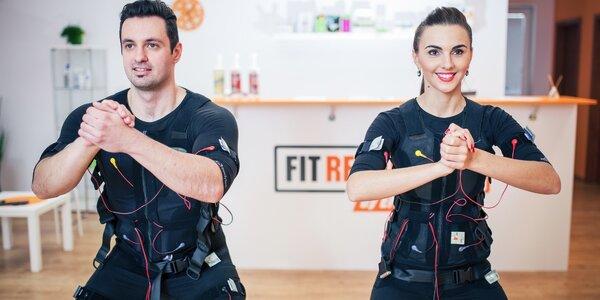 Vyzkoušejte EMS - 20minutové cvičení s trenérem
