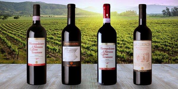 Gurmánská italská vína - červená, bílá i růžová