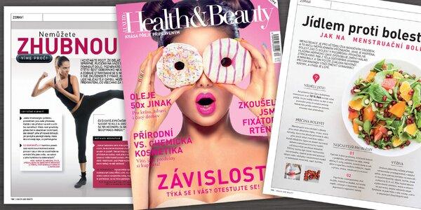 Roční předplatné časopisu Health&Beauty