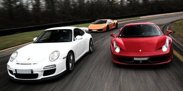 Jízda na okruhu ve Ferrari nebo Mitsubishi