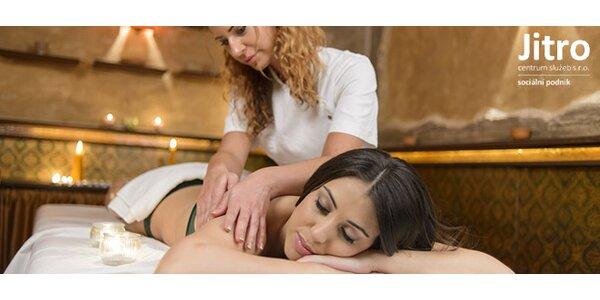 Ozdravná masáž zad a šíje nebo celého těla