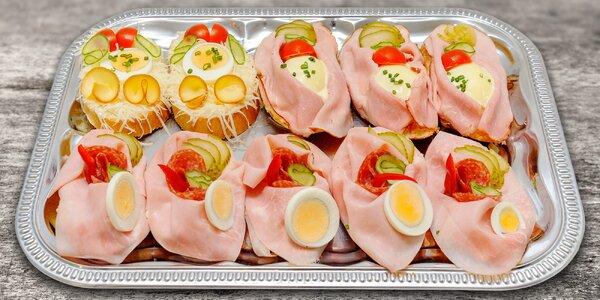 10 chlebíčků na oslavy i nedělní posezení