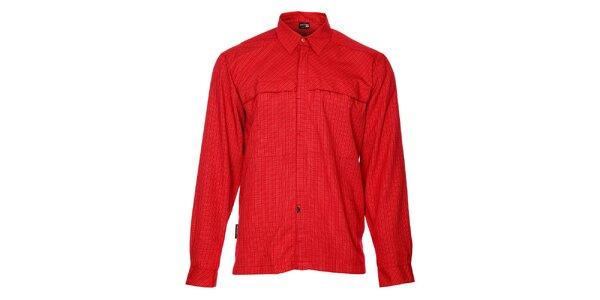 Pánská červená kostkovaná košile Hannah