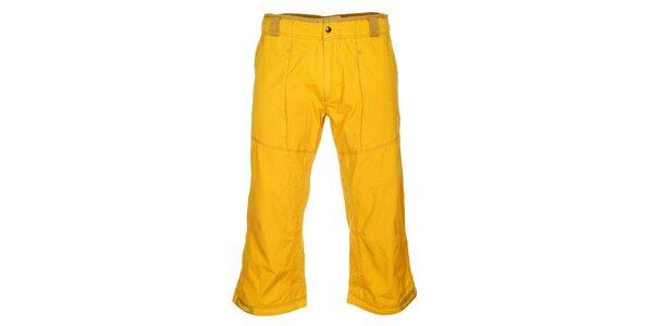 Pánské žluté 3/4 kalhoty Hannah