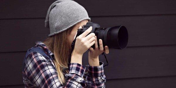 Individuální fotokurz s vlastní zrcadlovkou