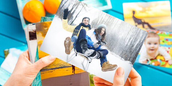 Vyvolání 100 fotografií 9x13 cm nebo 10x15 cm