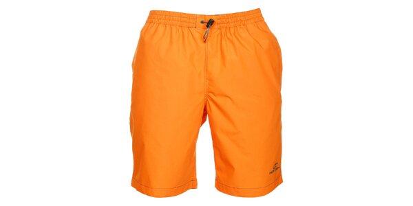 Pánské oranžové šortky Hannah