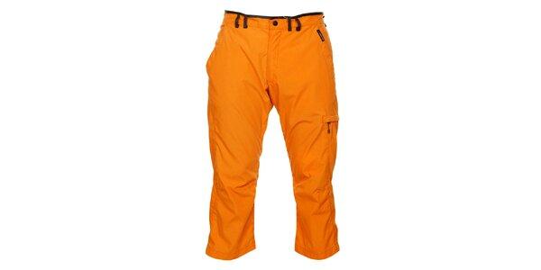 Pánské oranžové 3/4 kalhoty Hannah