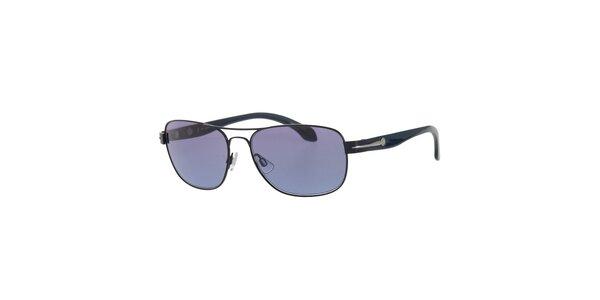 Pánské tmavě modré sluneční brýle Calvin Klein
