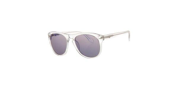 Pánské transparentní sluneční brýle Calvin Klein s tmavými skly
