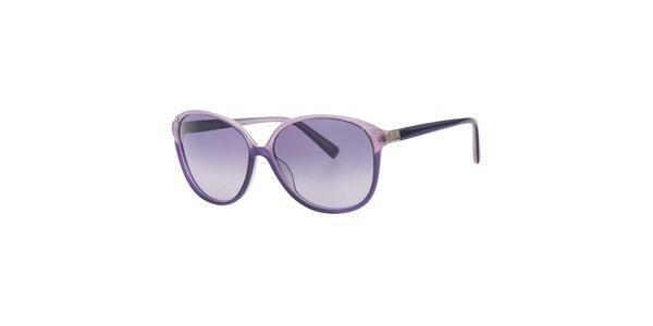Dámské fialové sluneční brýle Calvin Klein
