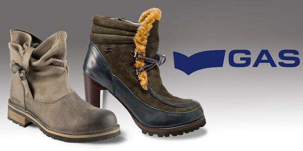 Dámské boty GAS – šmrncovní za všech okolností
