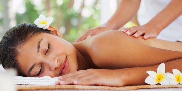 Dvouhodinová harmonizující masáž celého těla
