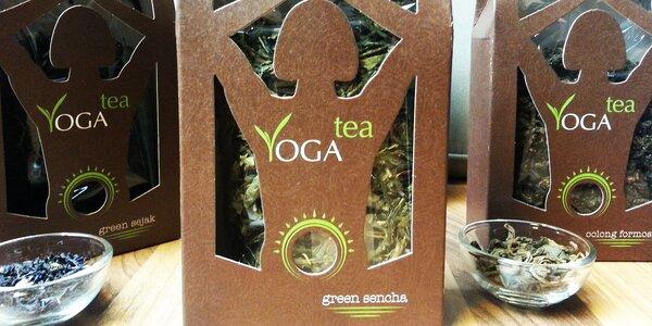 Zdravý sypaný YOGA Tea z korejských zahrad