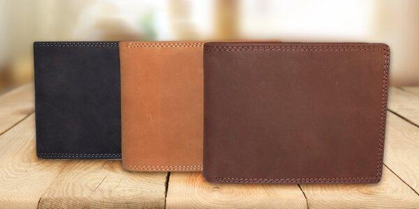 Elegantní pánské kožené peněženky