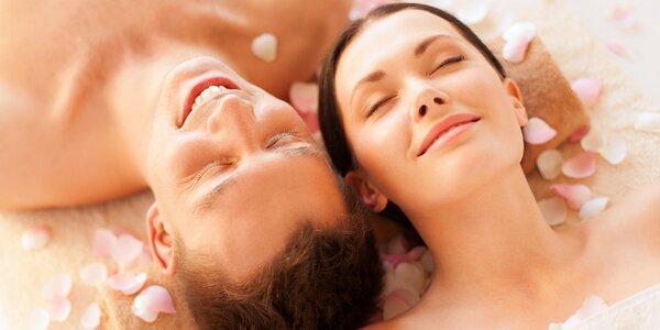 60minutová párová masáž pro celkové uvolnění