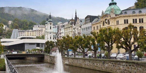 3 dny se snídaní a vínem v novém hotelu u Varů