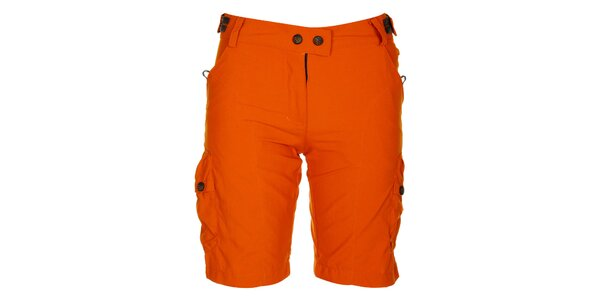 Dámské oranžové šortky Hannah