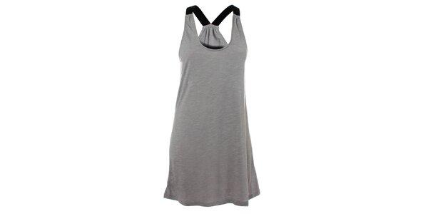 Dámské šedé bavlněné šaty Santa Barbara