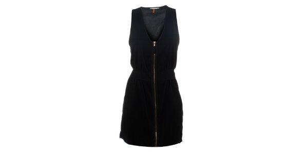 Dámské černé šaty Santa Barbara se zipem