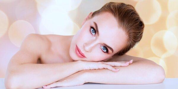 Kosmetické ošetření pleti s čištěním i masáží