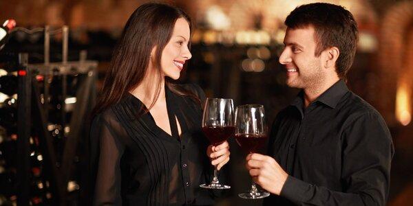 Romantická degustace vín při svíčkách pro dva