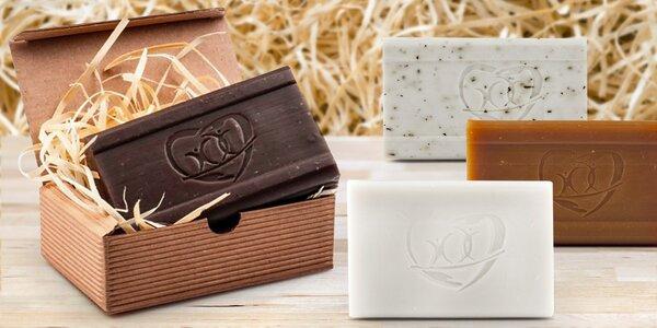 Ideální dárek: voňavá přírodní mýdla Pharmedis v dárkových krabičkách