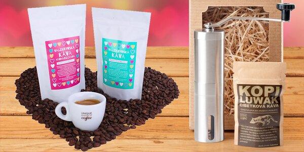 Valentýnské balíčky zrnkových káv od Kopi Luwak