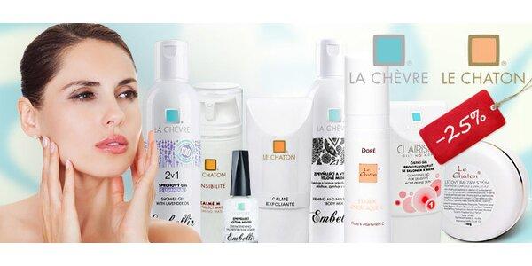 25% sleva na kosmetiku La Chèvre a Le Chaton