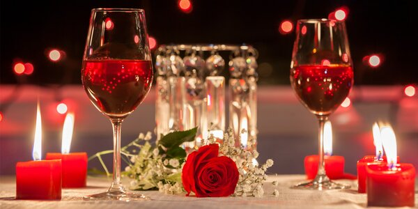 Valentýnské 4chodové menu pro 2 náročné gurmety