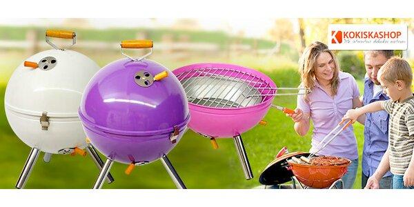 Zahradní BBQ grily v retro designu
