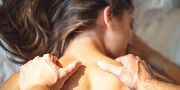 150minutová partnerská masáž