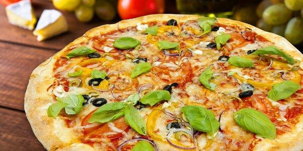 Pizza sestavená podle vaší chuti i s rozvozem