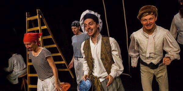 Divadelní představení: Země je placatá, jinak tě zabiju!
