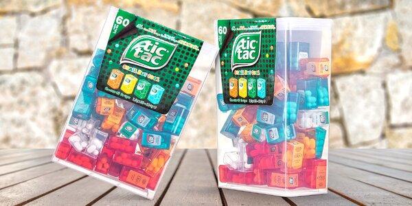 Obří balení Tic Tac: 60 krabiček, 4 příchutě