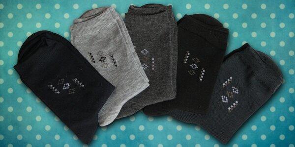 10 párů pánských 100% bambusových ponožek