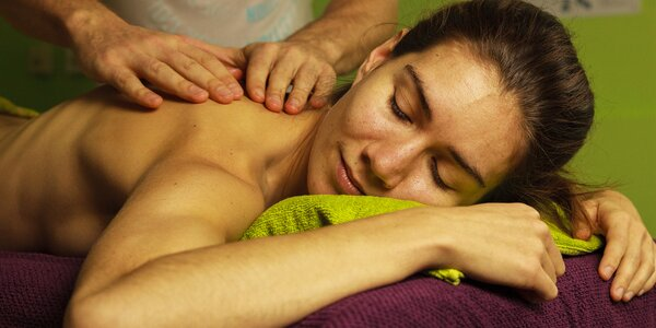 120minutová celostní masáž