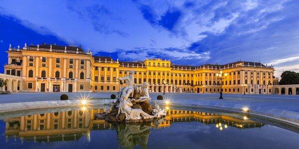 Romantika ve Vídni s ubytováním u Schönbrunnu