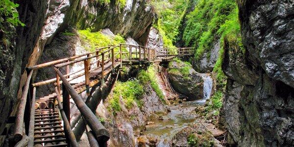 Výlet do kaňonu Medvědí soutěska v Rakousku