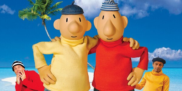 Vstupenka na Pat a Mat jedou na dovolenou